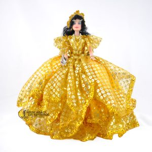 Boneca Cigana Média Amarela