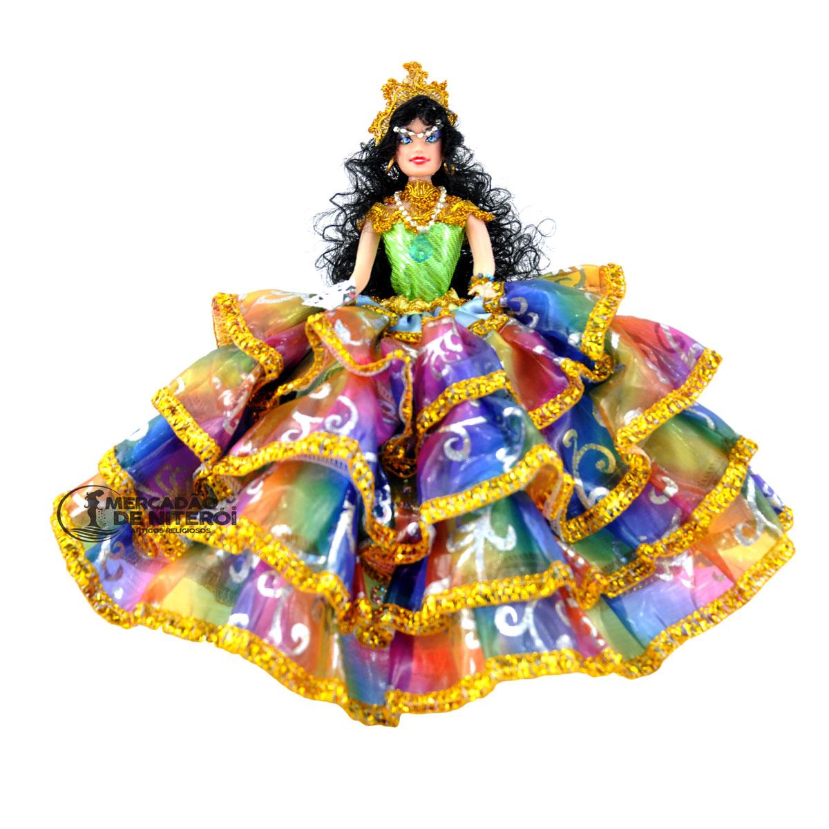 Boneca Cigana Méd...M Color