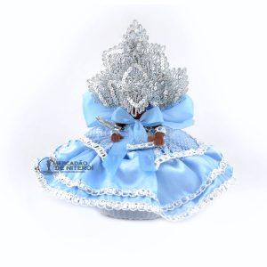 Boneca Orixá Iemanjá Pequena Azul
