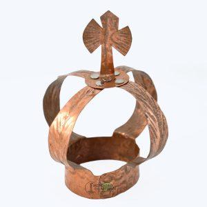 Coroa de Cobre Xangô Mini