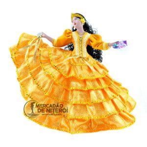 Cigana-cartas-pandeiro-amarela-camadas