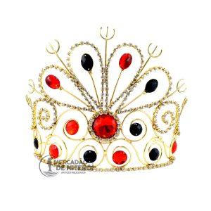 Coroa-vermelha-e-preta